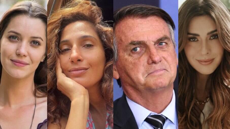 Famosas criticam Bolsonaro