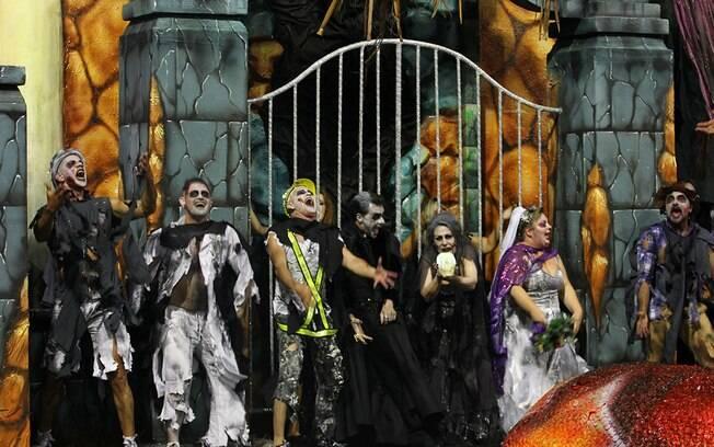A acadêmicos do Tatuapé ganhou o carnaval de São Paulo em 2018 homenageando o Maranhão