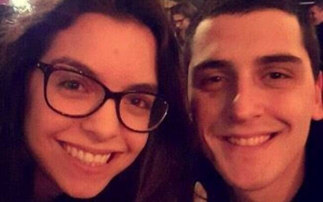 A relação de Mariana e Leandro acabou se tornando um namoro à distância quando ambos decidiram fazer intercâmbio em épocas diferentes