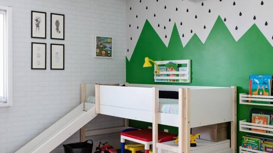 Para o quarto das crianças busque algo moderno fácil de organizar, mas com personalidade