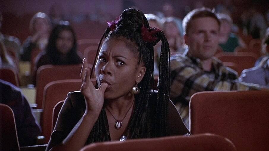 A personagem Brenda Meeks (Regina Hall), do filme 'Todo Mundo em Pânico', faz uma sátira ao estereótipo de angry black woman