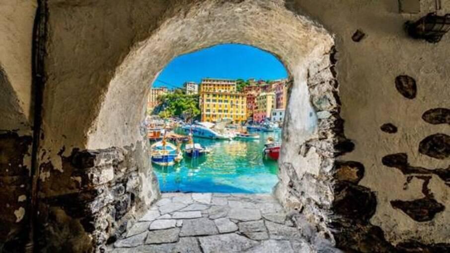 Cinque Terre fica na região da Ligúria, na Itália