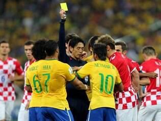 Arbitragem de Yuichi Nishimura foi muito contestada pelos croatas