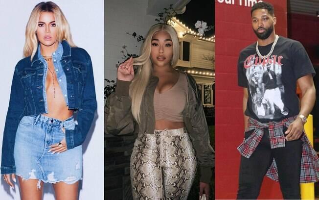 Jordyn Woods, melhor amiga de Kylie Jenner, pode ser o pivô da separação de Khloé Kardashian e Tristan Thompson