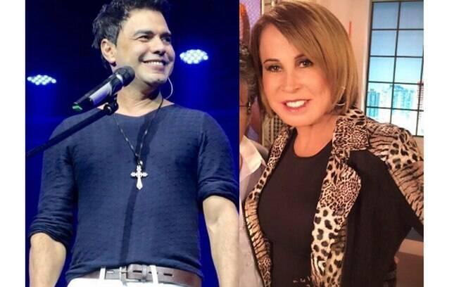 Zezé Di Camargo e sua ex-mulher Zilu Godói já passaram por poucas e boas diante da imprensa brasileira