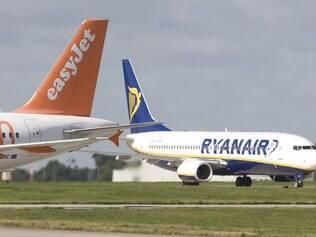 Fique atento à localização do aeroporto e ao máximo de bagagens permitidas