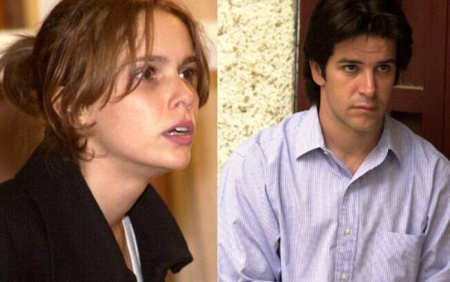 Murilo Benício e Débora Falabella