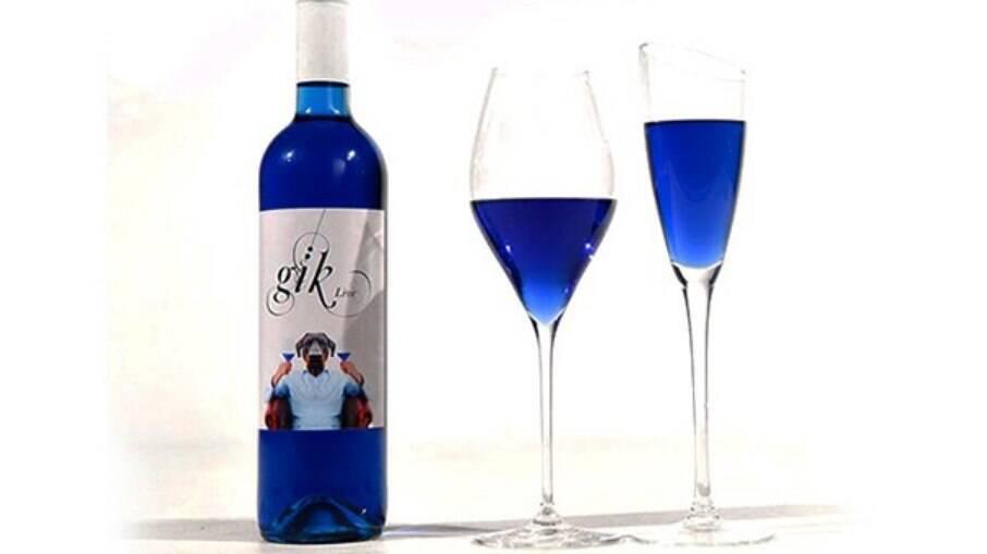 O vinho ficou famoso pela cor