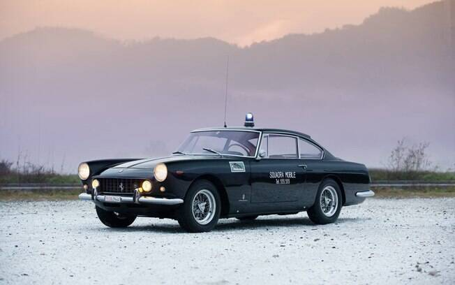 Ferrari 250 GTE policial é o único de sua espécie. Havia um segundo, que não durou muito tempo
