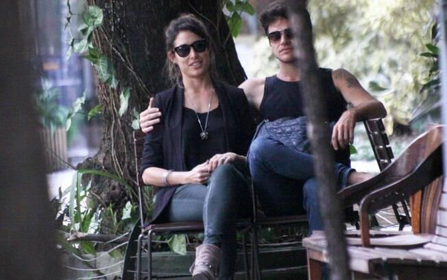 Giselle Itié e Emilio Dantas
