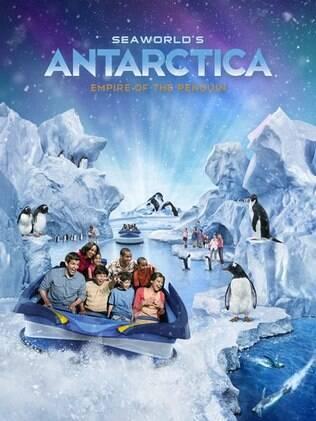 Em 2013, parque estreia atração voltado para o universo dos pinguins