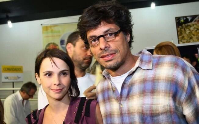 Débora Falabella e o namorado, Daniel Alvim
