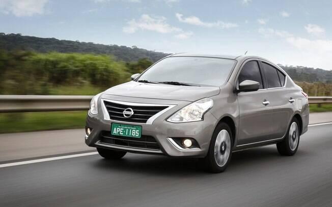 Nissan Versa com câmbio automático do tipo CVT