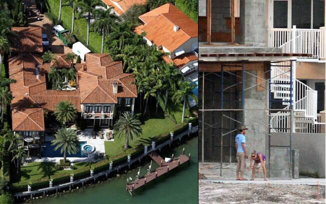 O casal cuida de perto de todos os detalhes da nova mansão deles