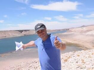 Alexandre Avancini, diretor-geral de 'Os Dez Mandamentos', durante gravações no Chile