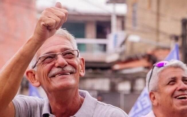 Capitão Nelson (Avante) teve apoio do Presidente Jair Bolsonaro