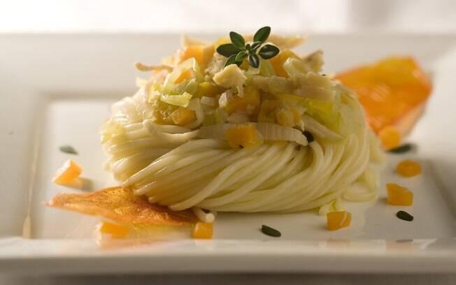 Foto da receita Espaguete light com ragu de peru pronta.