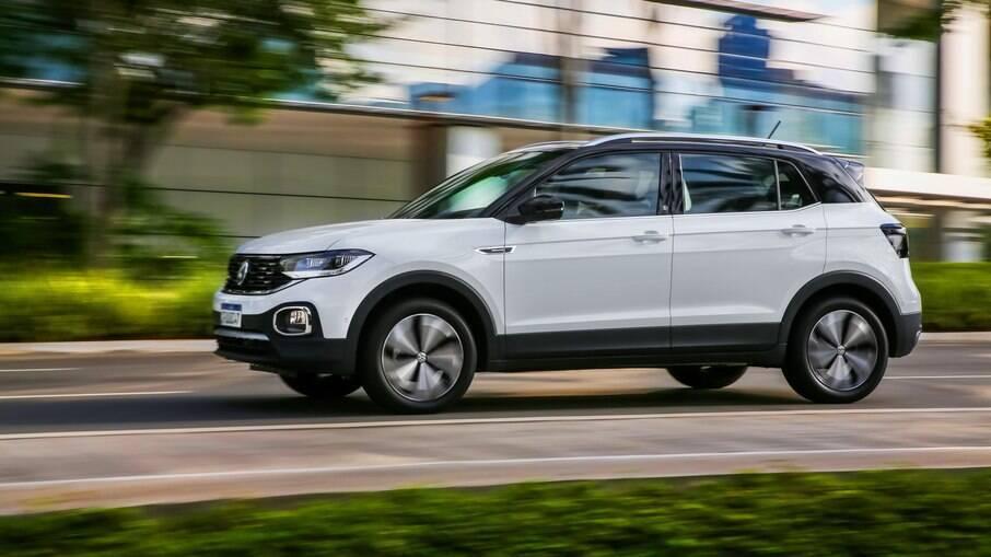 VW T-Cross é o carro usado mais valorizado acima da tabela da FIPE