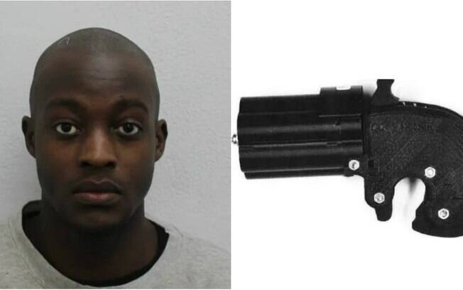 Homem foi preso em posse de armas fabricadas por ele em impressora 3D
