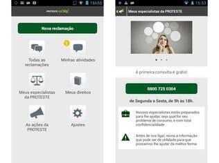 Disponível para Android e iOS, aplicativo PROTESTE Agora é plataforma de reclamações para consumidores insatisfeitos da Associação de Consumidores