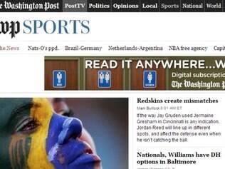 Humilhação brasileira foi destaque na maioria nos principais jornais internacionais