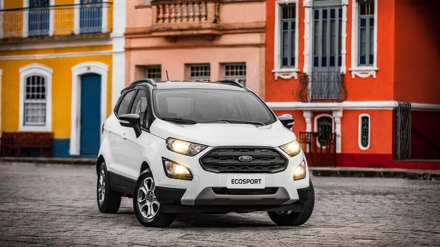 Ford EcoSport: depois que deixou de ser fabricado no Brasil, índice de desvalorização do SUV aumentou