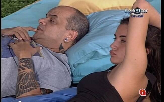 Bah informa João Carvalho sobre o alvo da Selva: Fabiana