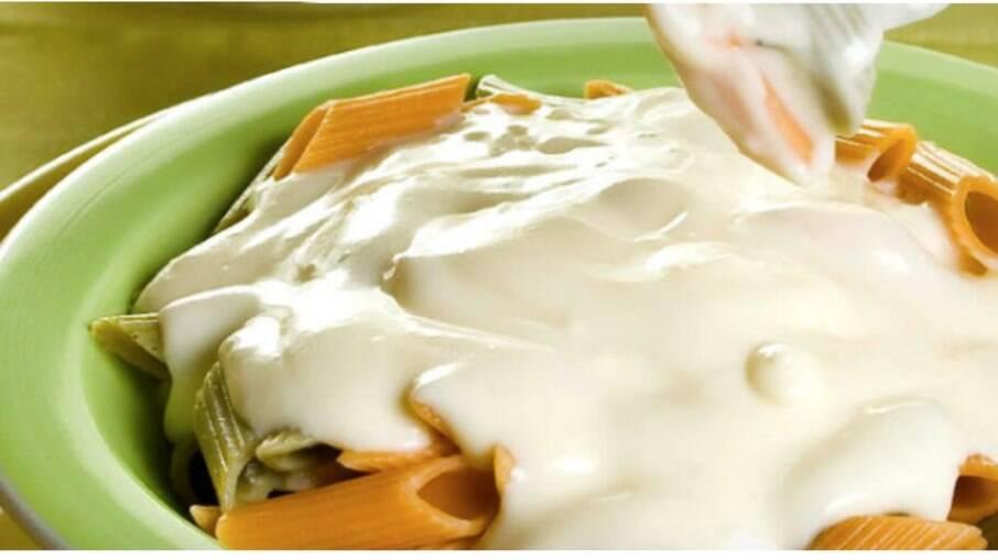 Molho branco para lasanha e macarrão