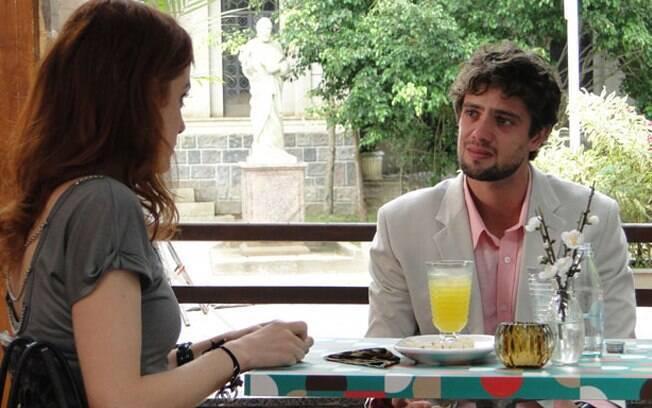 Rodrigo desabafa com Ana sobre seu sentimento por Ana