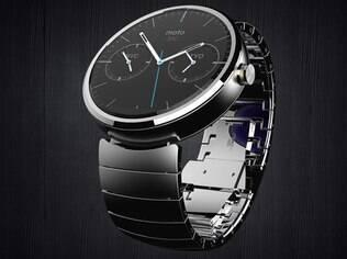 Motorola fará relógio inteligente com Android, o Moto360