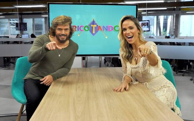 Rede TV! estreia programa de fofoca com pautas frias e apresentadores Lígia Mendes e Franklin David um tanto perdidos