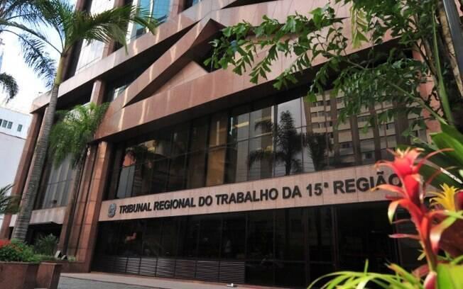 TRT-15, de Campinas, retoma atividade presencial nesta segunda-feira