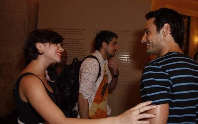 Bruna Linzmeyer e Rodrigo Santoro