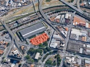 Veja a área exata onde será construída o novo centro administrativo