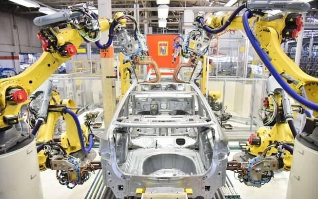 fabrica da VW