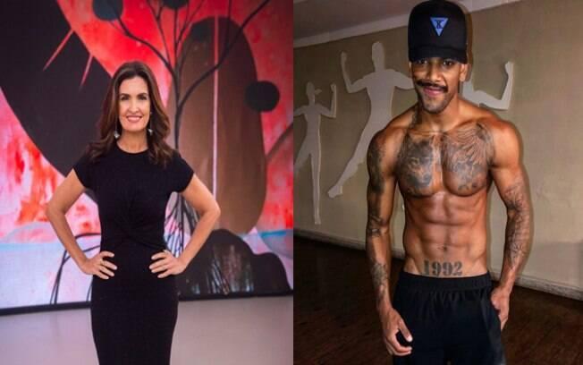 Fátima Bernardes e Nego do Borel são famosos que tentam lacrar na web