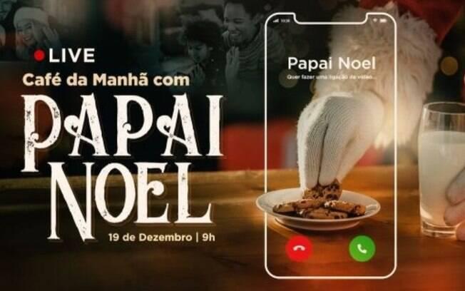 Shopping de Campinas promove aes digitais com Papai Noel