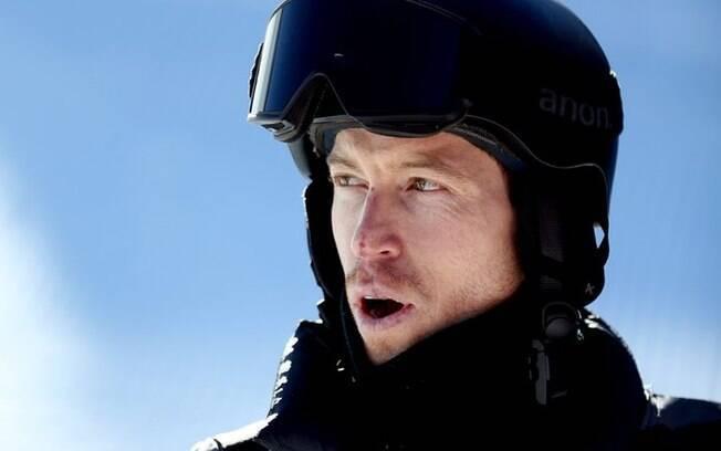 Shaun White, atleta norte-americano de snowboard e tricampeão dos Jogos Olímpicos