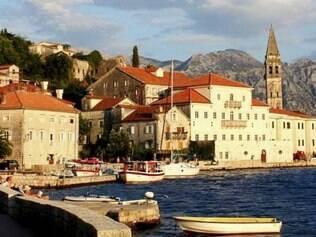 Vista de Kotor, declarada Patrimônio da Humanidade pela Unesco
