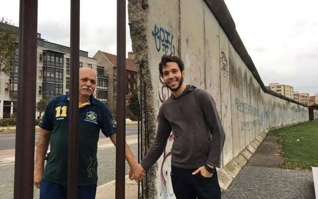 Fazer esse mochilão pela Europa junto com o pai fez com que Diego e Gerson ficasse ainda mais próximos