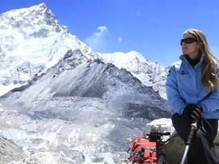 Karina Oliani escalou o Everest em quatro oportunidades