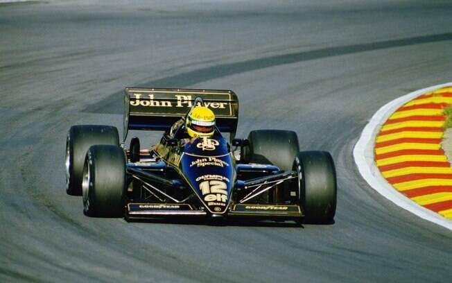 Lotus 97T de Ayrton Senna, em 1985