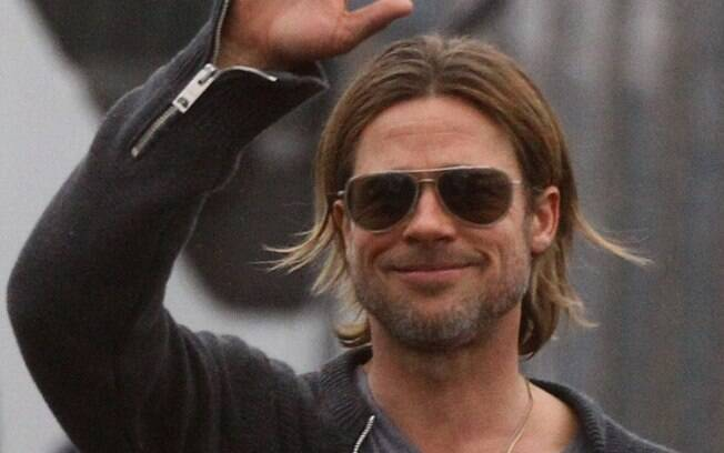 Brad Pitt: herói também na vida real