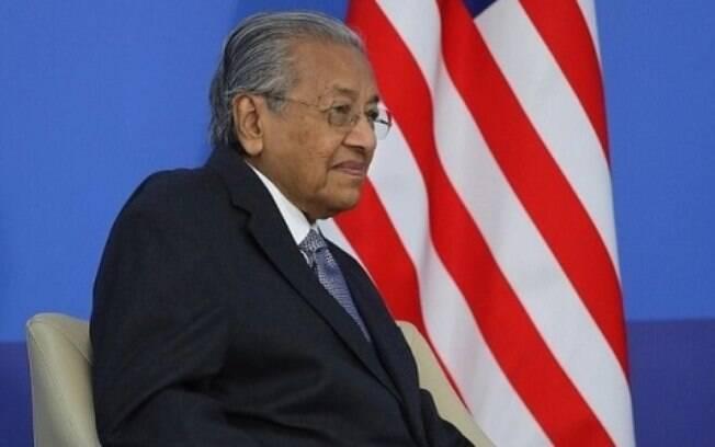Ex-primeiro-ministro da Malásia, Mahathir Mohamad