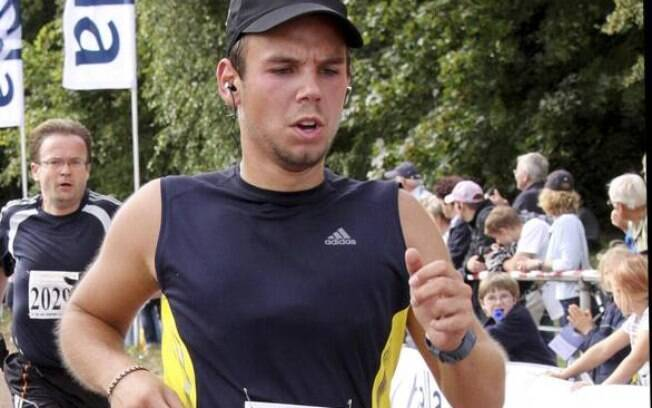 O copiloto da Germanwings Andreas Lubitz: suicida e assassino de 149 pessoas nos alpes franceses