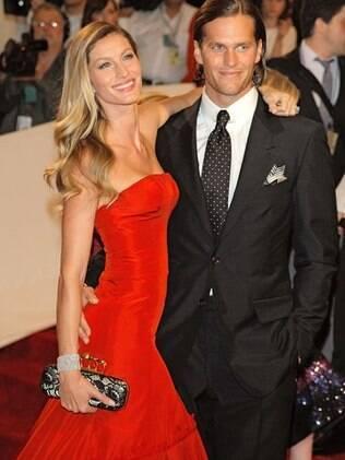 Gisele Bundchen e Tom Brady em maio deste ano, em Nova York