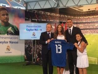 Navas é o primeiro jogador da Costa Rica a defender o Real Madrid