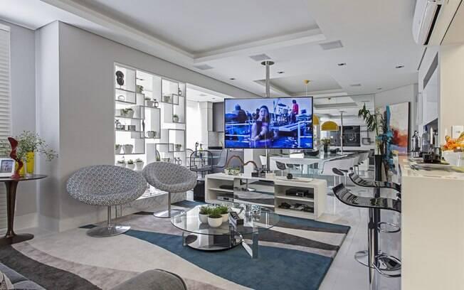 Saiba como incluir os televisores e dar um upgrade no décor dos ambientes