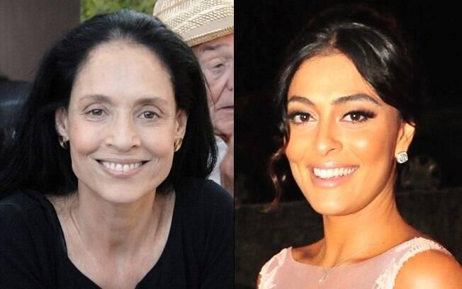 Elogios entre as duas Gabrielas: Sonia Braga e Juliana Paes