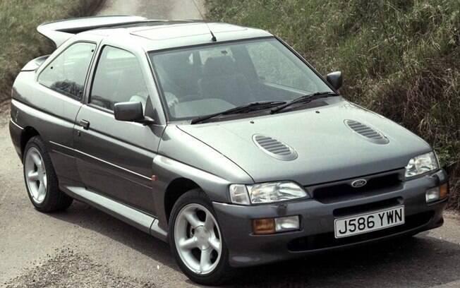 Um entre os carros dos sonhos do editor Carlos Guimarães é o  Ford Escort RS Cosworth, que não foi vendido no Brasil